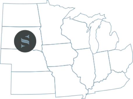 Location of Sageworth's South Dakota office
